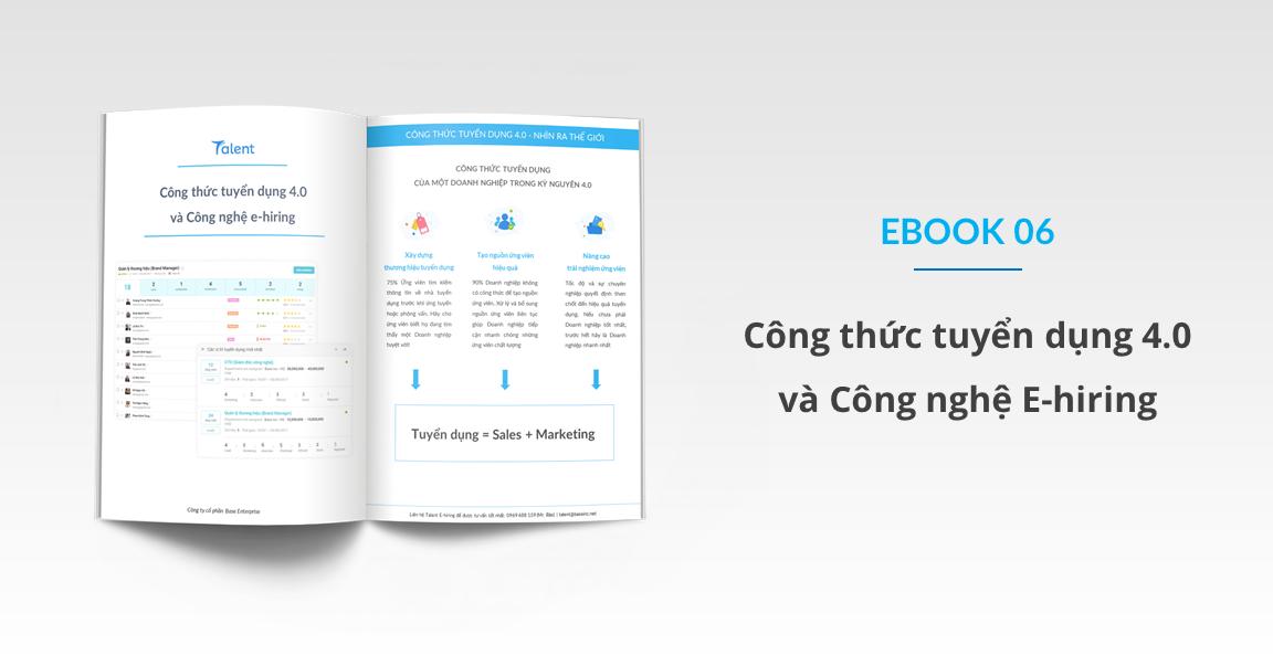 Offer Base - Ebook 06: Công thức tuyển dụng 4 0 và Công nghệ E-hiring